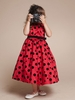 Tiffany Polka-Dot Flower Girl Dress