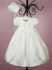 Deborah Silk Christening Gown for Girl