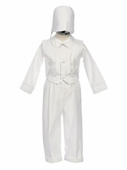 William Boy Christening Outfit