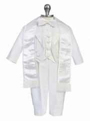 Michael Embroidered Boy Christening Gown