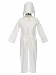 Jacob Christening Suit for Boy