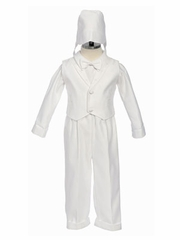 Noah Cross Boy Baptism Outfit