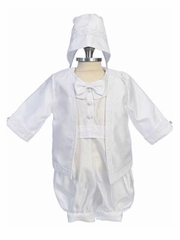 Anthony Long Sleeves Boy Christening Gown Set