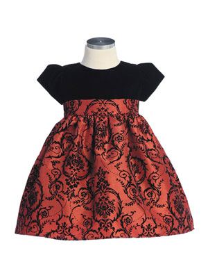 Chloe Infant Christmas Dress