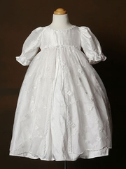 Laced Christening Gown