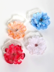 Emma Floral Ribbon Hairband for Baby