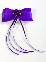Pretty Purple Hairpin