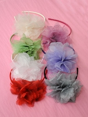 Floral HeadBand for Flower Girl