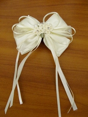 Ivory Hairpin for Flowergirl