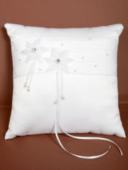 Ring Bearer Pillow in White