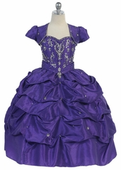 Fancy Pick Up Quinceanera Dress