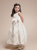 Caitlyn Embroidered Flower Girl Dress
