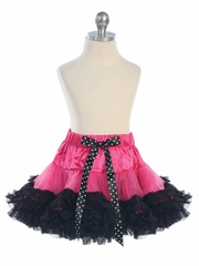 Fuchsia Black Girl's Tutu