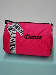 Ribbon Accent Dance Tote Bag