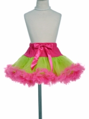 Ellie Prima Fuchsia /Apple  Green Tutu