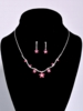 3-Piece Rhinestone Jewelry Set