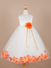 Addison Petal Flower Girl Dress