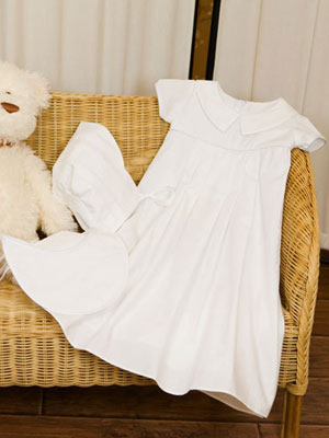 Sarah Cotton Christening Gown