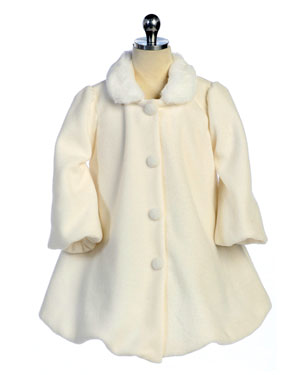 Avery Fleece Coat for Holiday