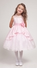 Dolores Pink Princess Flower Girl Dress