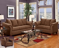 Sensations Chocolate Sofa set C-6700-SL
