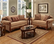 Key West Umber Sofa Set P-1000U-SET