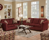 Malibu Wine Sofa Set P-5159W-SET
