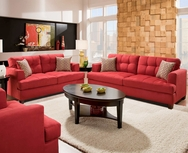 Angelika Red Sofa Set GT-AM3470R-SET