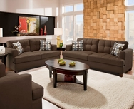 Angelika Brown Sofa Set GT-AM3470B-SET