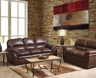 Langford Leather Sofa Set W-UH102-SET