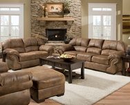 Pinto Tobacco Sofa Set P-6270-SET