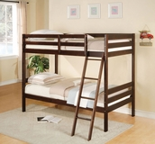 Espresso Finish Bunk Bed A-00510-BB