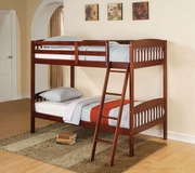Cherry Finish Bunk Bed A-00512-BB