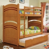 Oak Finish Bunk Bed A-01150-BB