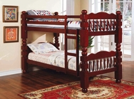 Cherry Finish 4.5 Post Bunk Bed A-02570-BB
