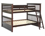 Full/Full Mission Bunk Bed C-1760ES-BB