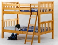 Twin/Twin Mission Style Bunk Bed C-1790-BB