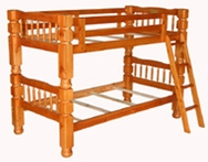 Jumbo Post Bunk Bed C-1799-BB