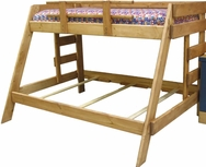 Twin/Full Pine Bunk Bed P-777-BBF