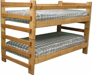 Twin/Twin Stackable Pine Bunk Bed P-777-BB