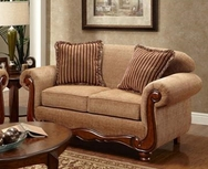 Key West Umber Loveseat P-1000UL