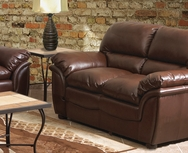 Langford Leather Loveseat W-UH102L