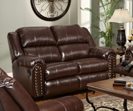 San Diego Coffee Reclining Loveseat P-50950L