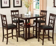 Counter Height 5-Pc Dining Set W-8223-SET