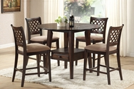 Tommy 5-Pc Counter Height Dining Set A-04110-SET