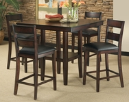 Pendelton 5-Pc Pub Table Set C-STD10036-SET