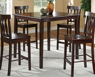 Melanie 5-Pc Counter Height Dining Set U-F2259-SET