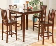 Leah 5-Pc Counter Height Dining Set U-F2254-SET
