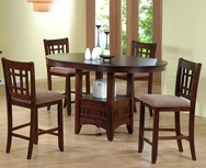 Counter Height 5-Pc Dining Set P-2185-SET