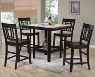 Cairo 5-Pc Counter Height Dining Set P-2711-SET